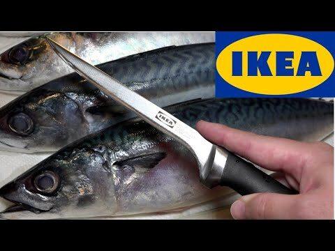 IKEAに売ってる『魚捌き包丁』の使い方が判明!【イケア キッチン】